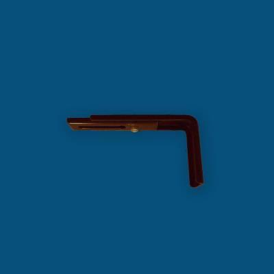Store Californien Trapèze Filtrant Bleu MO188