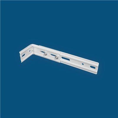 Store Californien Trapèze Filtrant Transparent Orange Clair VO268