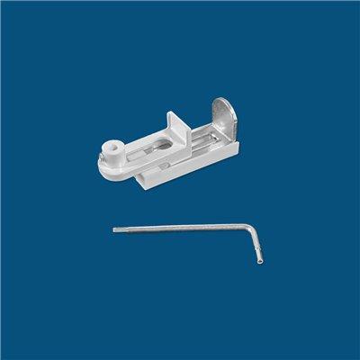 Store Californien Trapèze Filtrant Non Feu M1 Blanc TF95