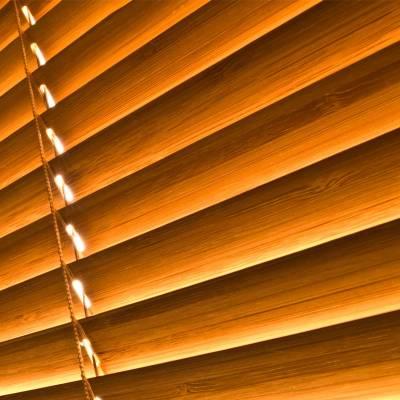 Store Californien Trapèze Occultant Non Feu M1 Chocolat OT284